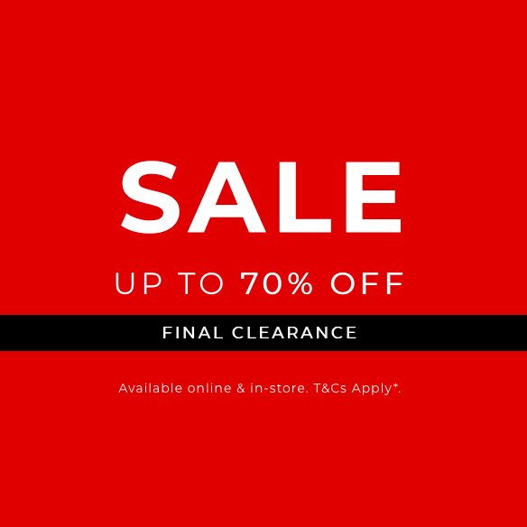 Save 70% in-store at Clarks
