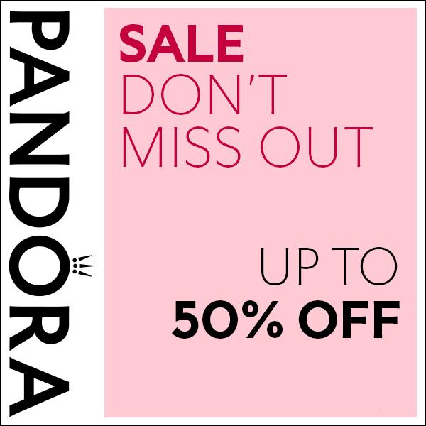 Half price gems are at Pandora