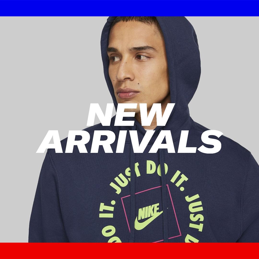 New season styles at Sports Direct