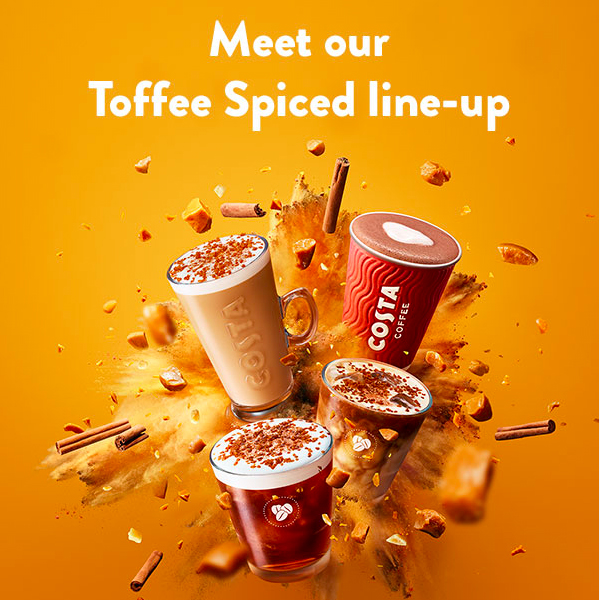Spice up spring with Costa