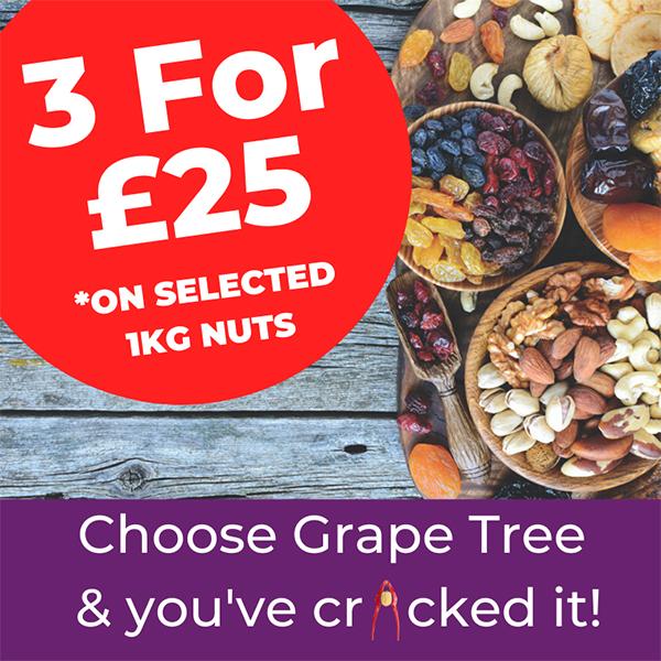 Grape Tree has nutty deals