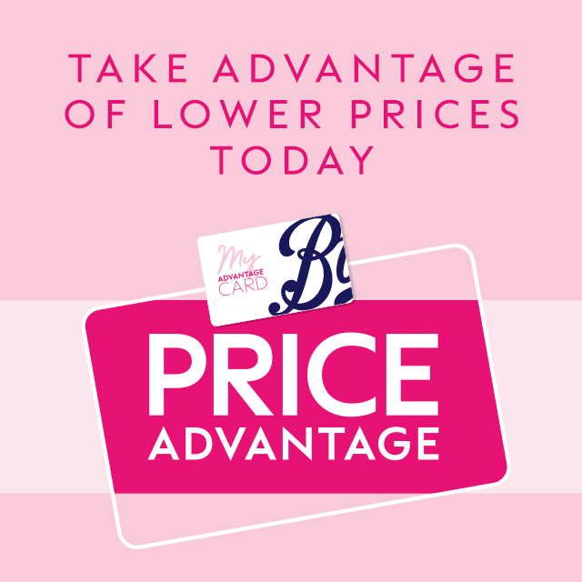 Take Advantage in-store at Boots