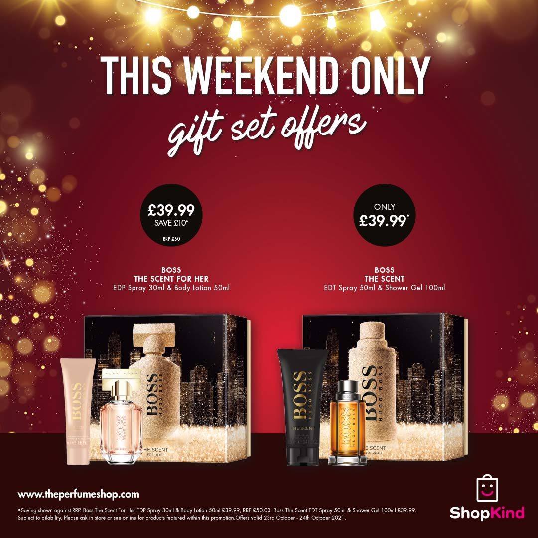 Weekend gifting at The Perfume Shop