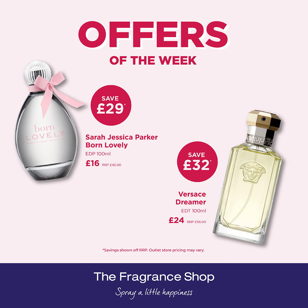 This week at The Fragrance Shop