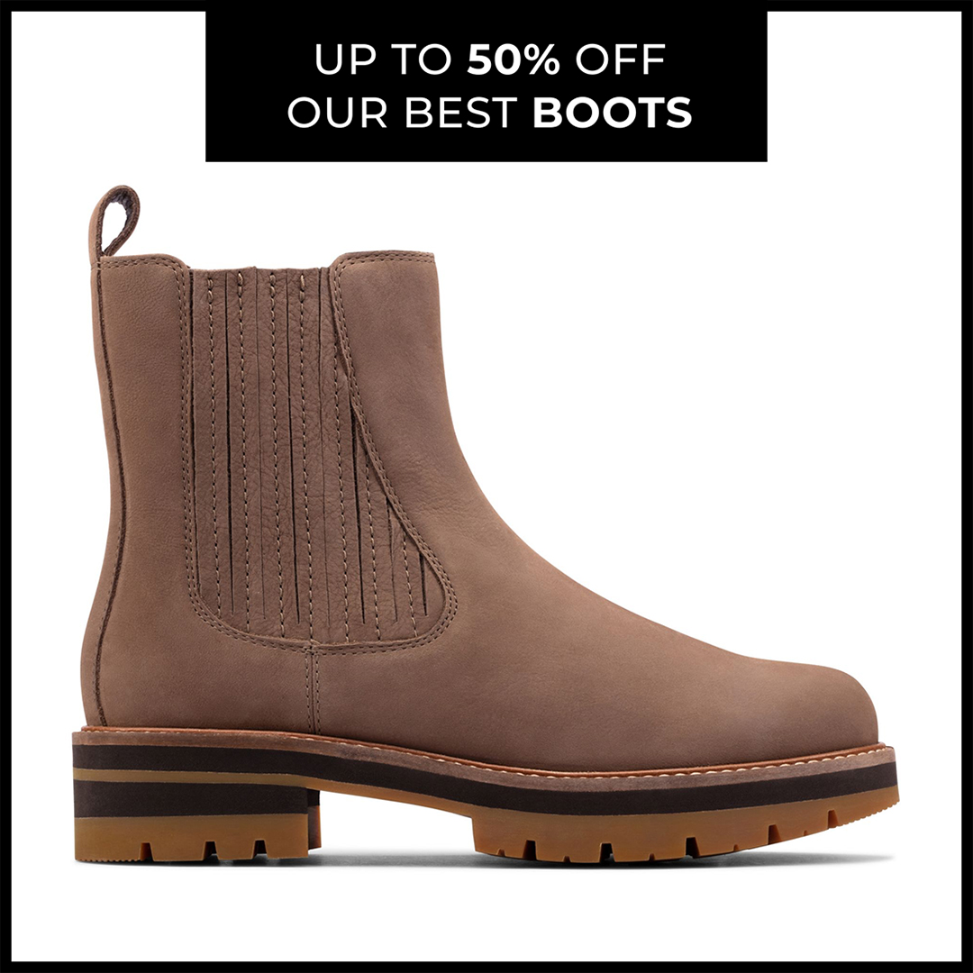 Summer boots on sale at Clarks