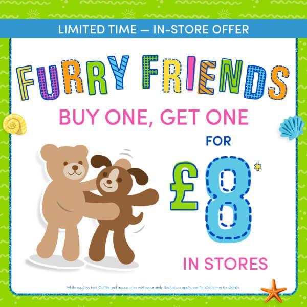 Make friends at Build-A-Bear