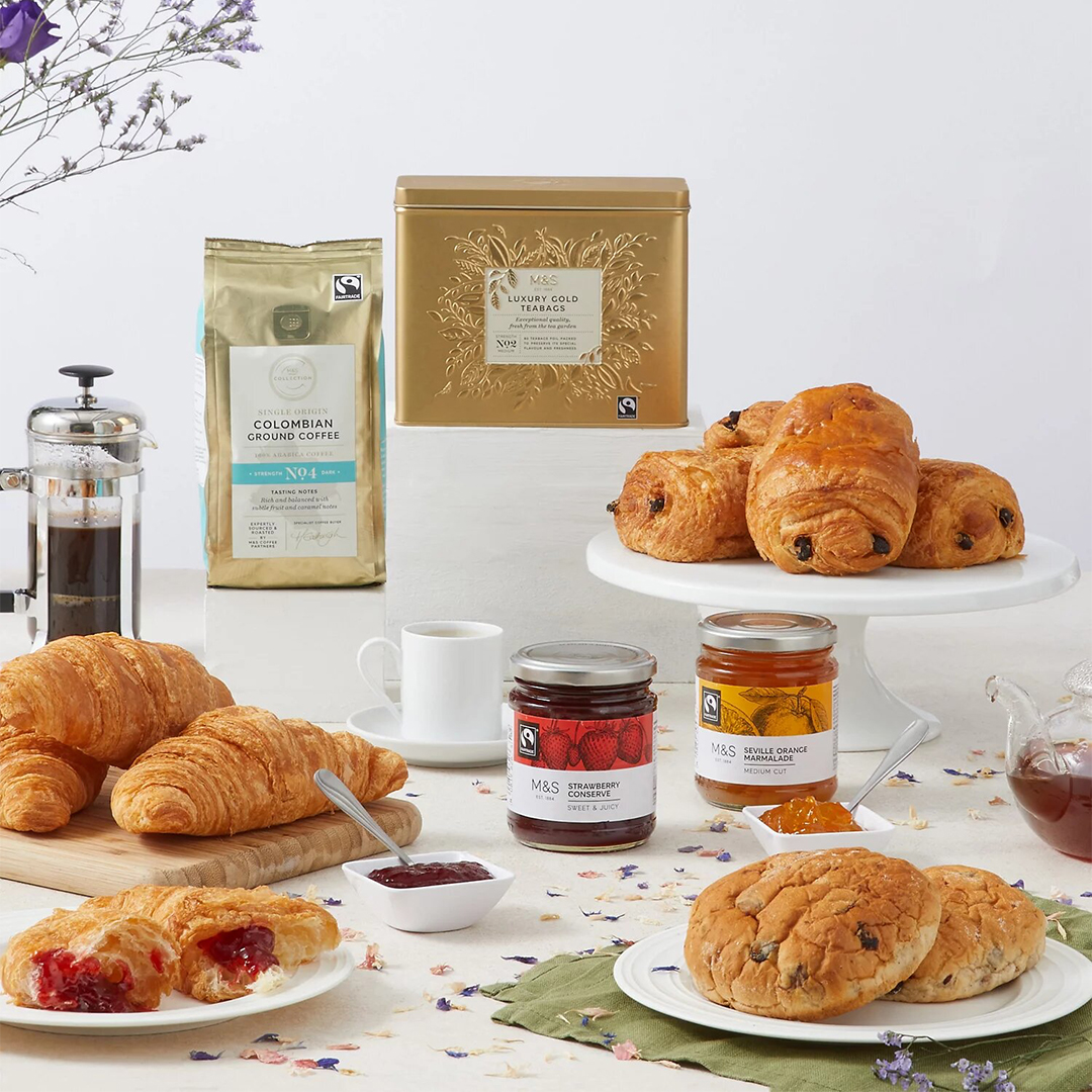 M&S will deliver breakfast in bed