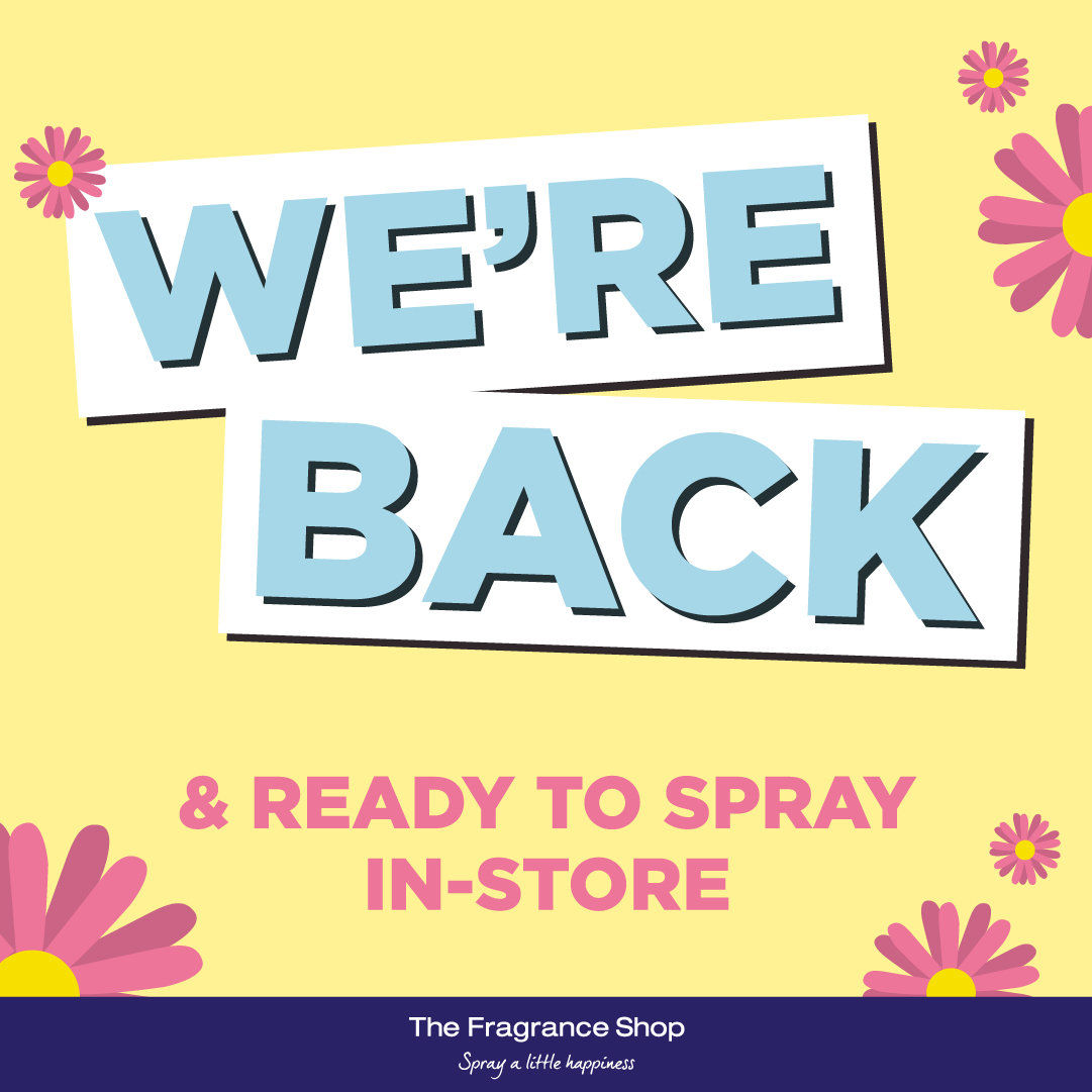 Say hello to The Fragrance Shop
