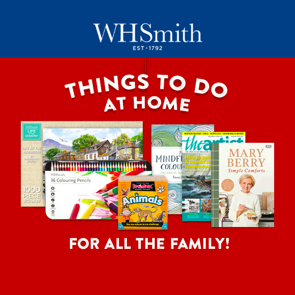 Find family fun at WHSmith