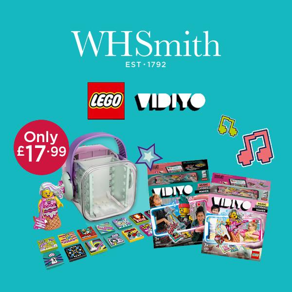 WHSmith has LEGO music video fun