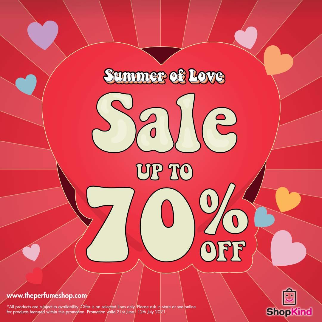 Love is The Perfume Shop Sale
