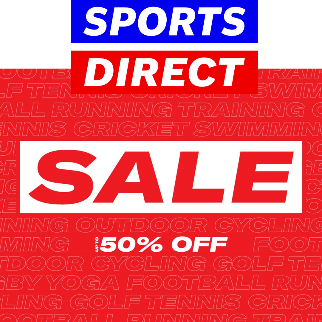 The sale is on at Sports Direct