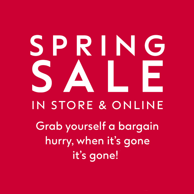 Don't miss the Boots Spring Sale
