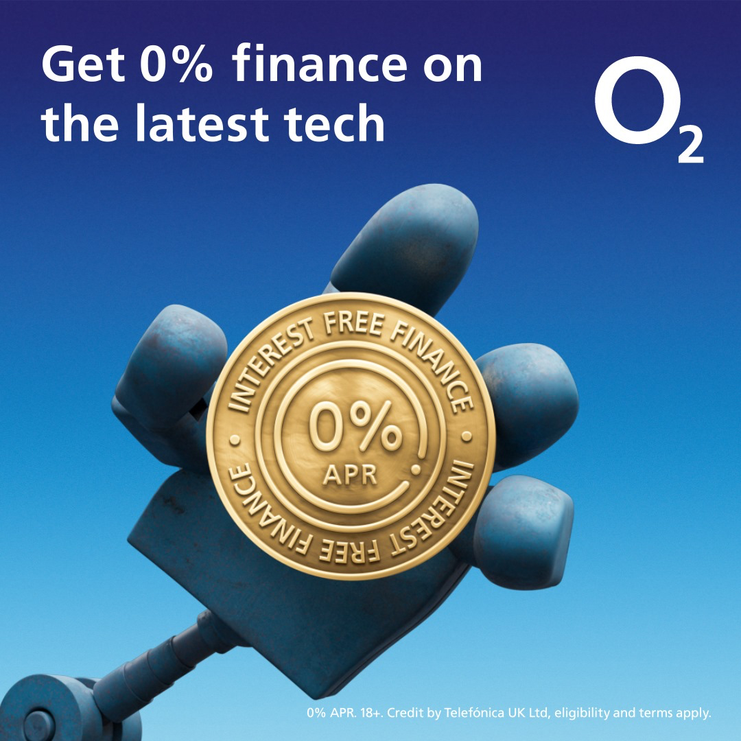 It pays to be with O2.