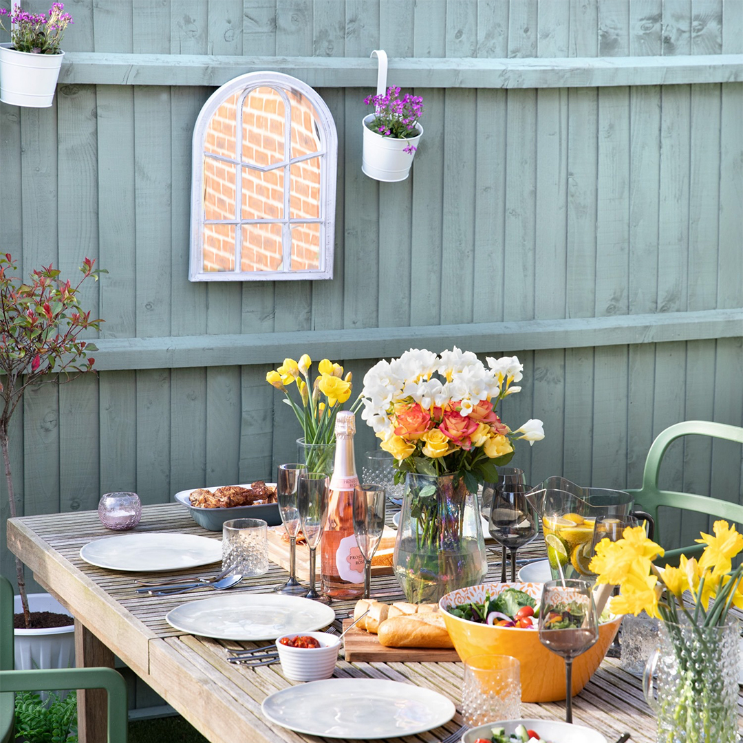 Style your garden with Poundland