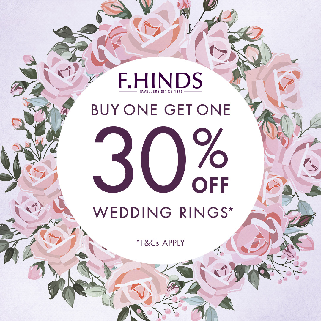 Say I do with F Hinds