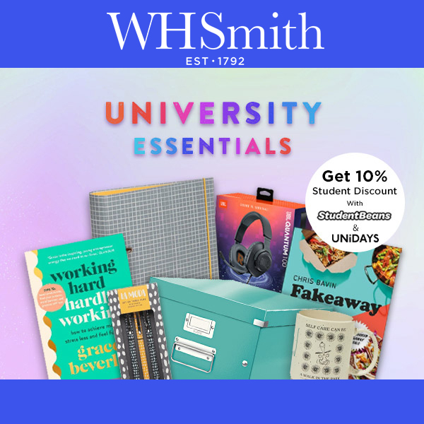 WHSmith offers Student Discounts