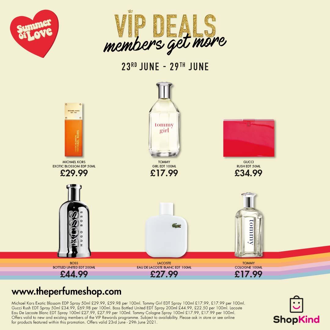 Summer deals at The Perfume Shop