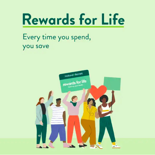 Join H&B Rewards for Life