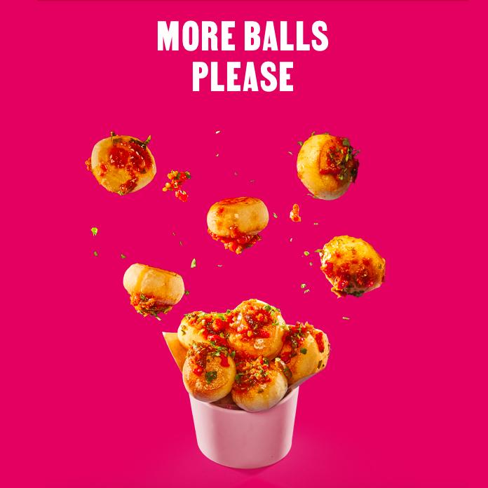 Try new Dough Balls at PizzaExpress