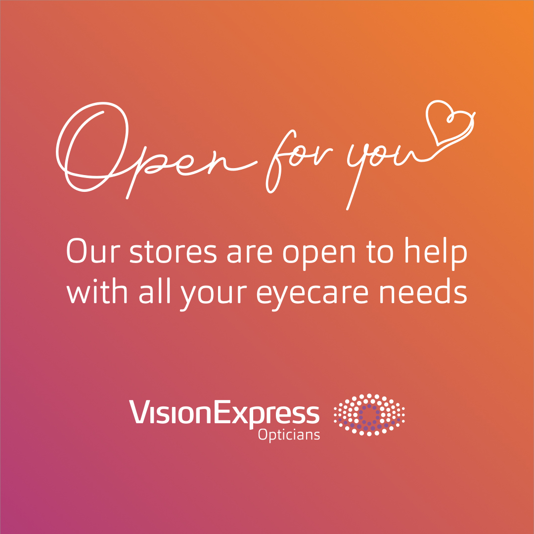 Look after your eyes with Vision Express