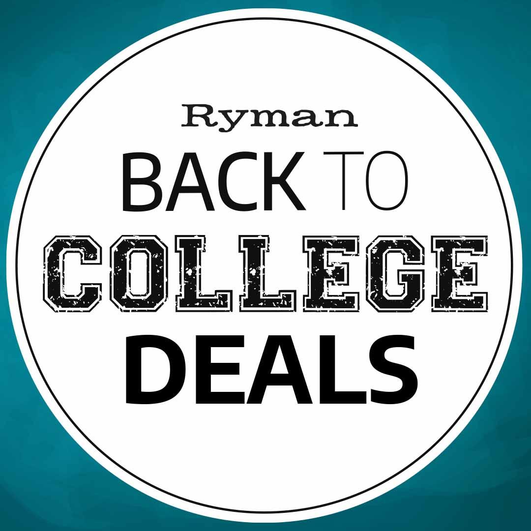 Back to Uni with Ryman