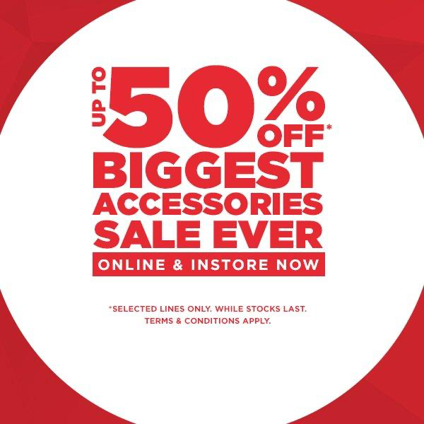 Accessorise for less at JD