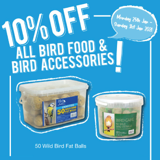 Feed the birds with Poundstretcher