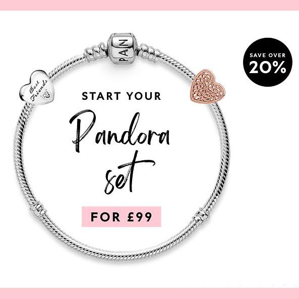 Stack and save at Pandora