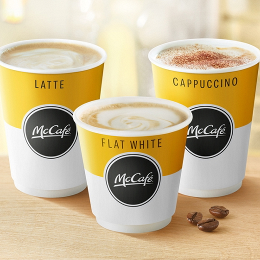 Earn a free McCafé® hot drink at McDonalds