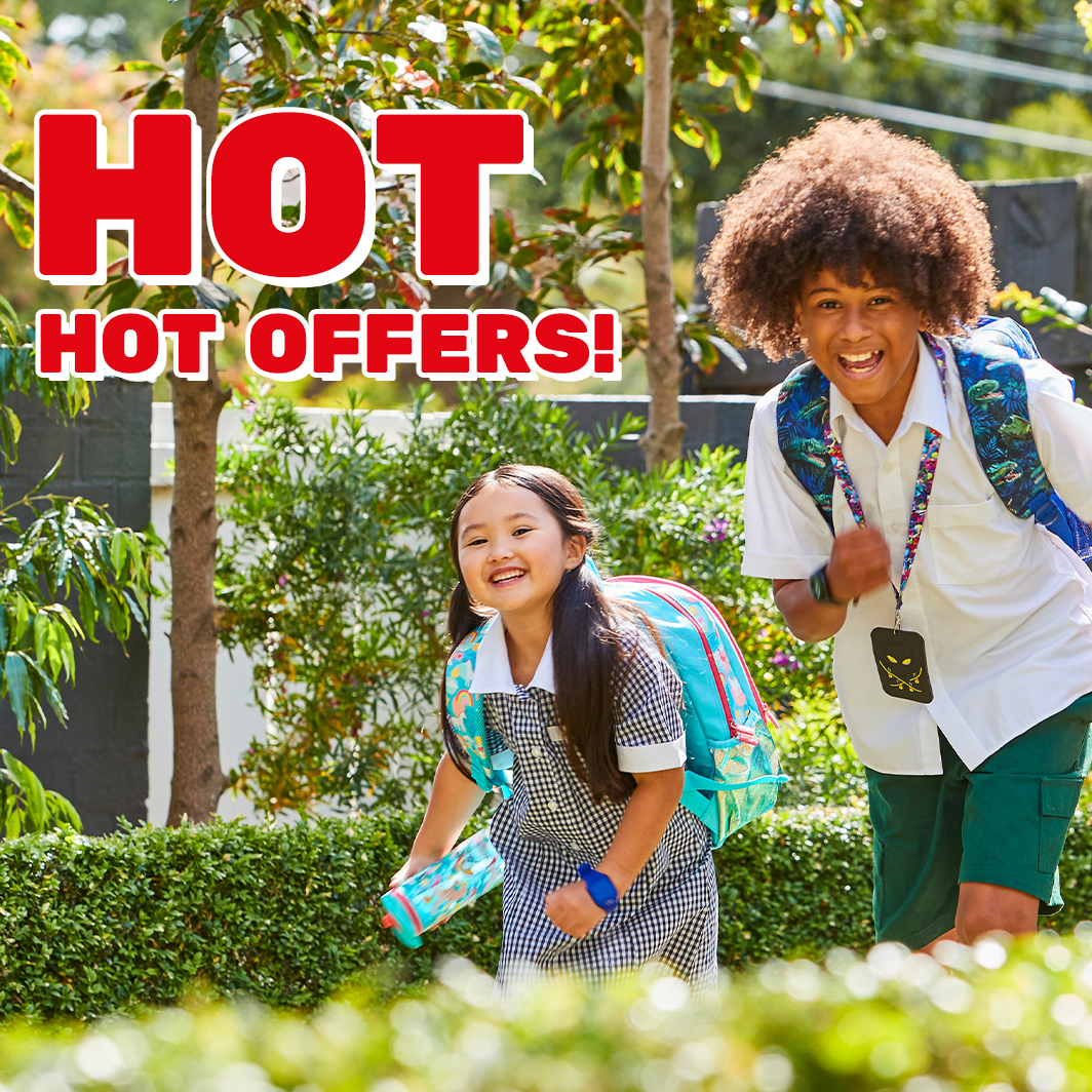 Save more in-store at Smiggle