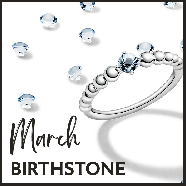 Gift a birthstone from Pandora