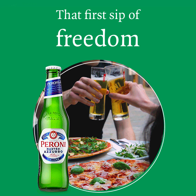 Your free drink is waiting at PizzaExpress