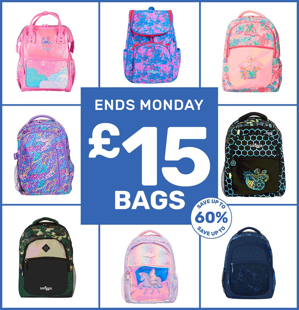 Bag a bargain at Smiggle