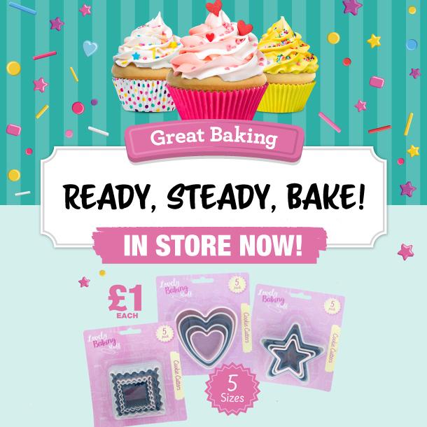 Get baking with Poundland