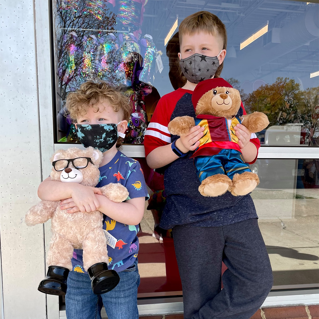 In-store fun at Build-A-Bear Workshop